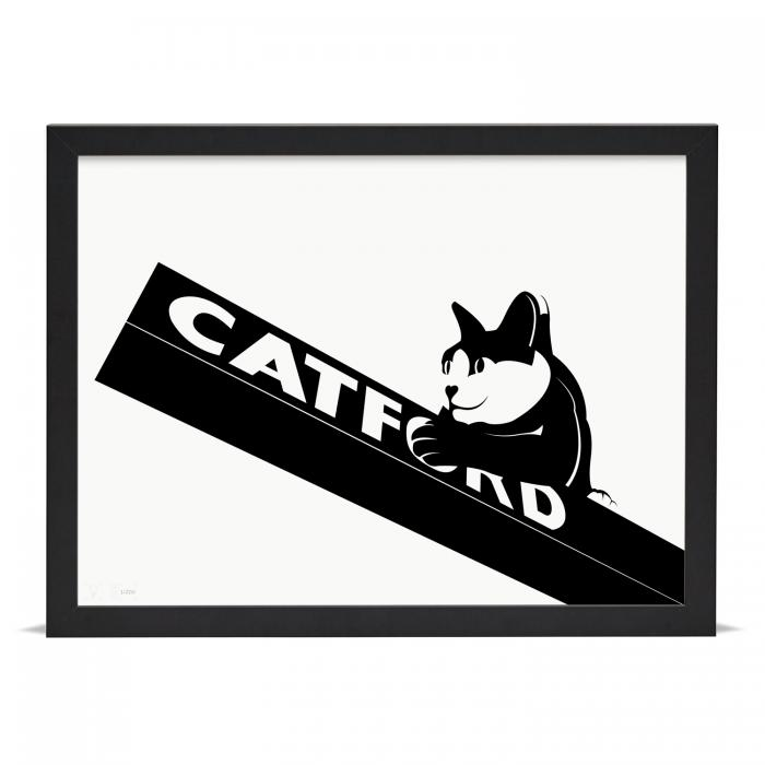 Place in Print Catford Cat 2 SE6 Art Print