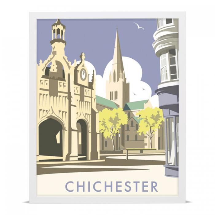Place in Print Dave Thompson Chichester Travel Poster Art Print