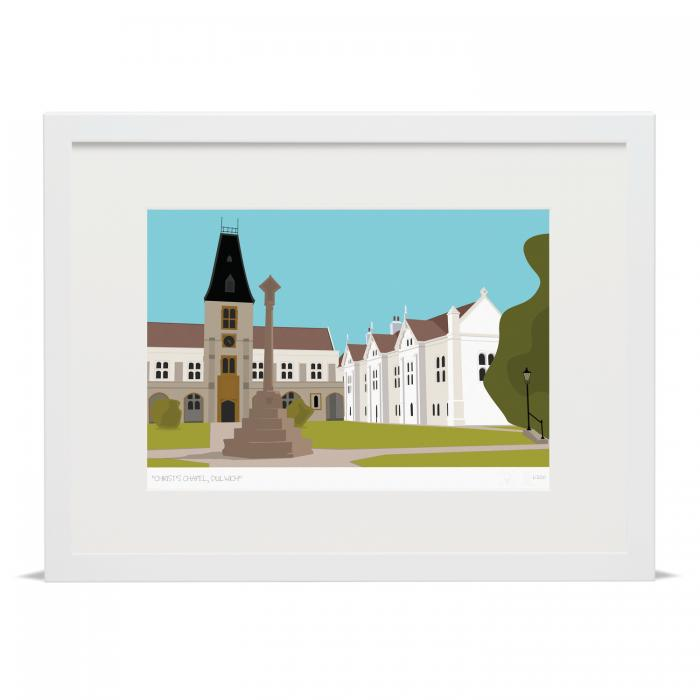 Place in Print Christ's Chapel Dulwich London Art Print