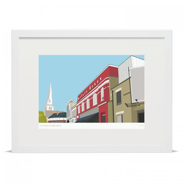 Place in Print South London Prints Clapham Picturehouse Venn Street Art Print