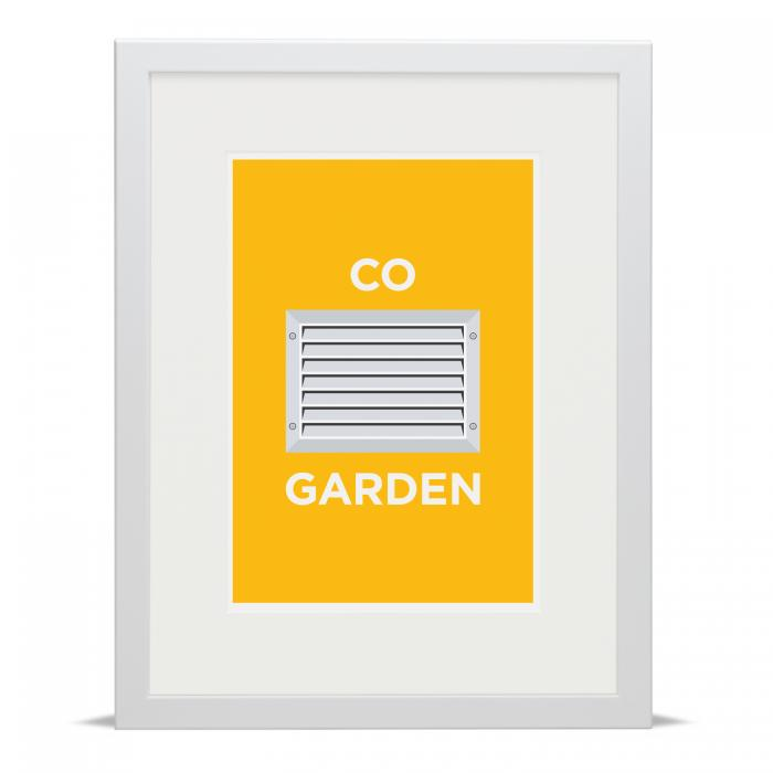 Pate Covent Garden London Neighbourhood Pun Art Poster Print