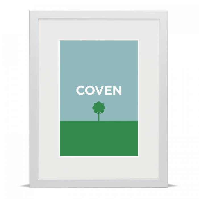 Place in Print Pate Coventry Neighbourhood Pun Art Print