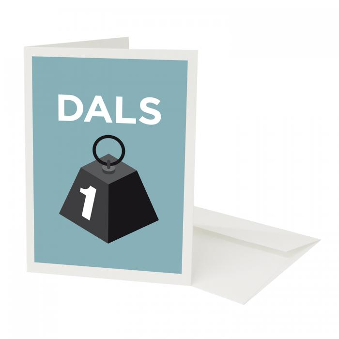 Place in Print Pate Dalston Neighbourhood Pun Greetings Card