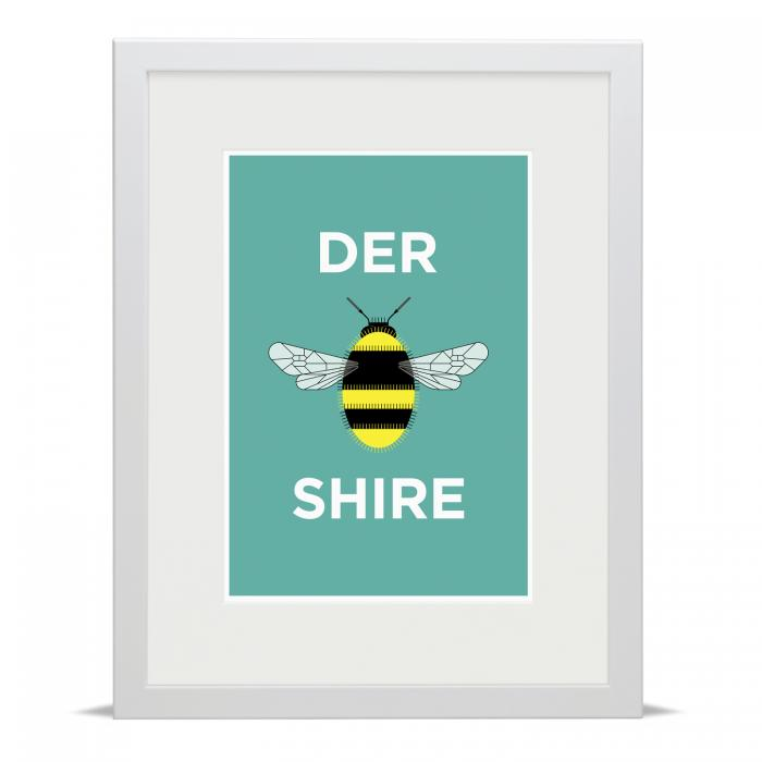 Place in Print Pate Derbyshire Neighbourhood Pun Art Print