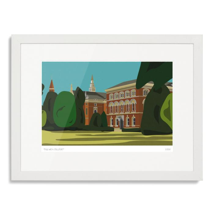 Dulwich College Art Poster Print
