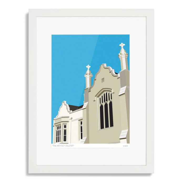 Dulwich Old College Art Poster Print