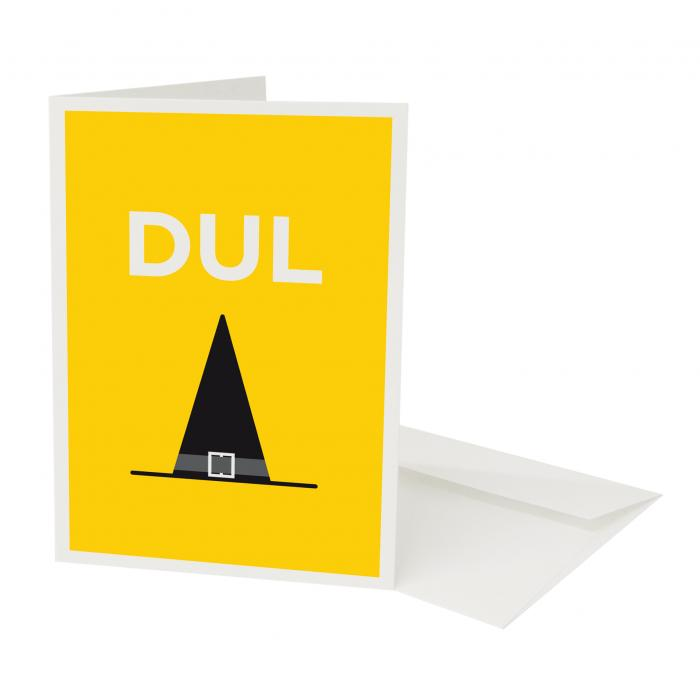 Place in Print Pate Dulwich Neighbourhood Pun Greetings Card
