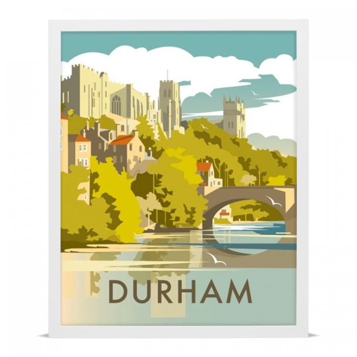 Place in Print Dave Thompson Durham Travel Poster Art Print