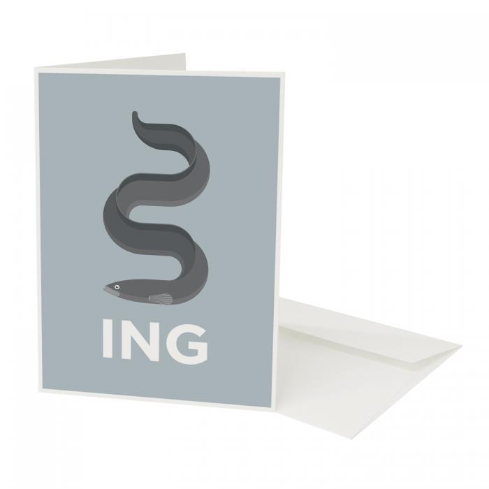 Place in Print Pate Ealing Neighbourhood Pun Greetings Card
