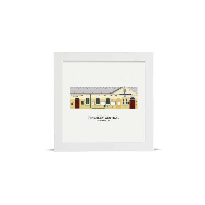 Place in Print artconsta Finchley Central Station Drawing Art Print