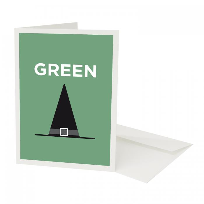 Place in Print Pate Greenwich Neighbourhood Pun Greetings Card