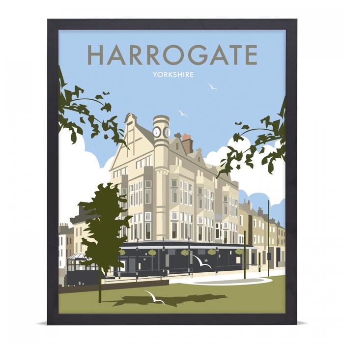 Place in Print Dave Thompson Harrogate Travel Poster Art Print
