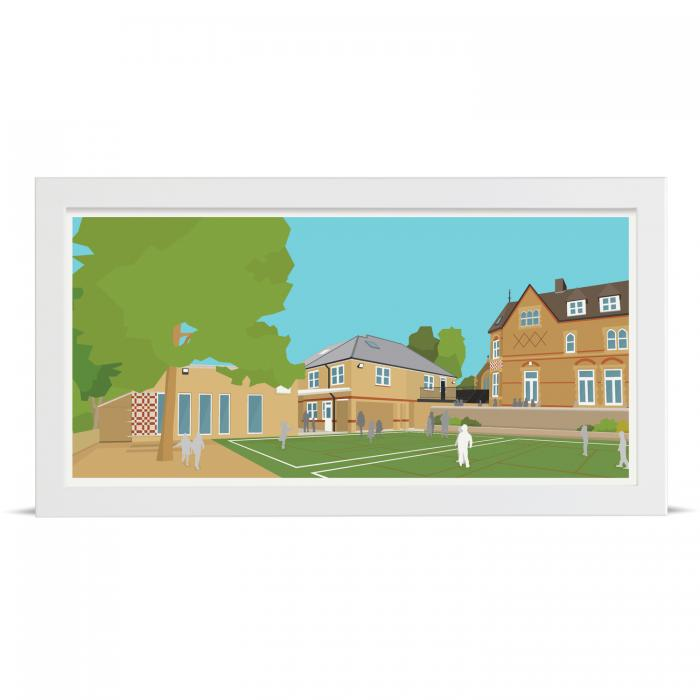 Place in Print Herne Hill School Art Print