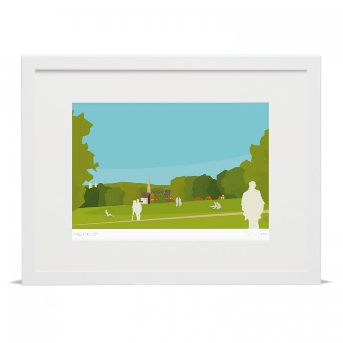 Place in Print Hilly Fields Brockley Ladywell Art Poster Print