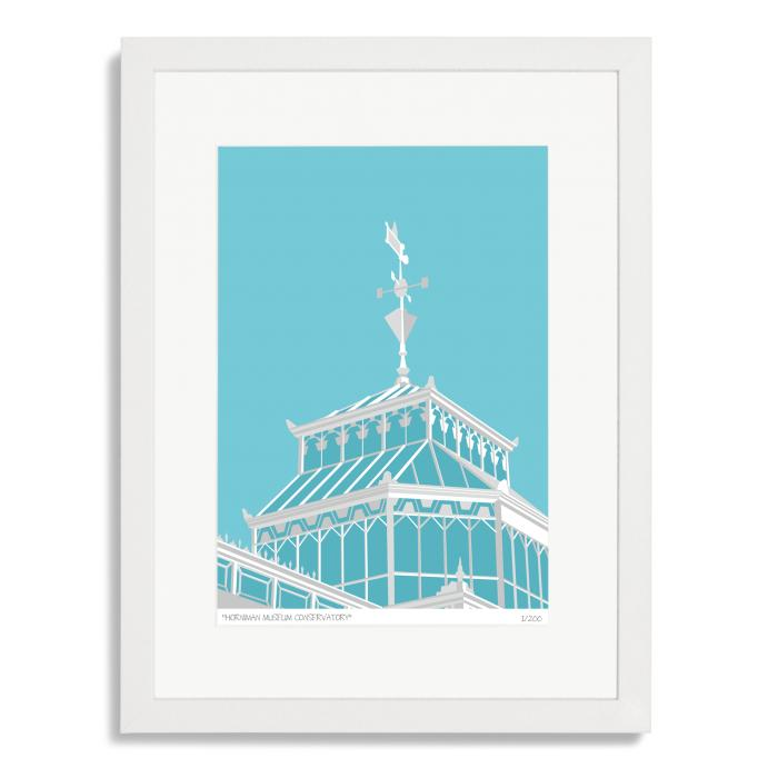 Place in Print Horniman Museum Conservatory Art Poster Print
