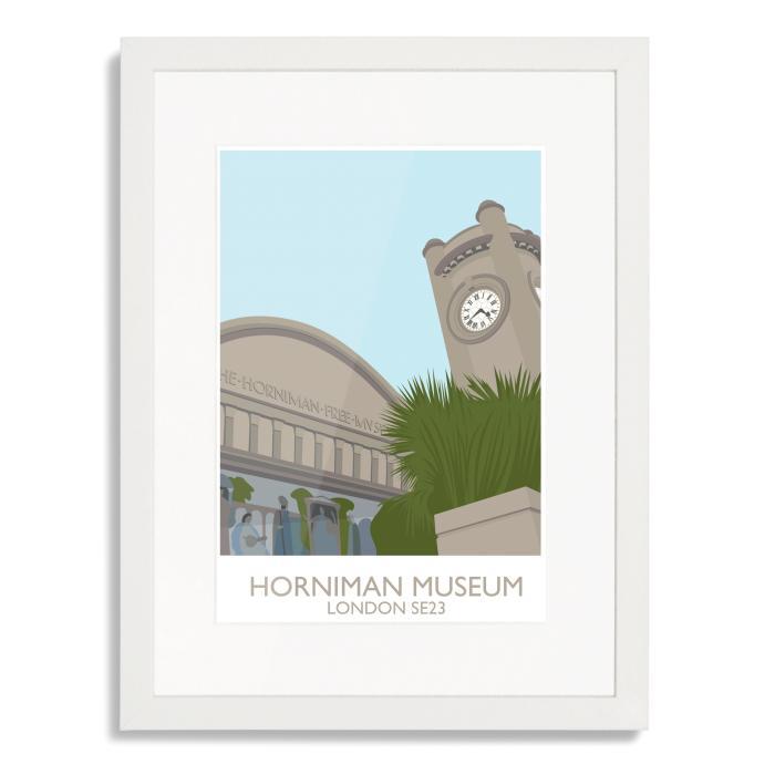 Horniman Museum Landmark Art Poster Print