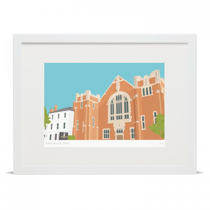 Place in Print King's College School Wimbledon Art Poster Print