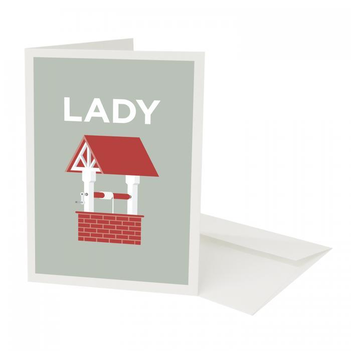 Place in Print Pate Ladywell Neighbourhood Pun Greetings Card