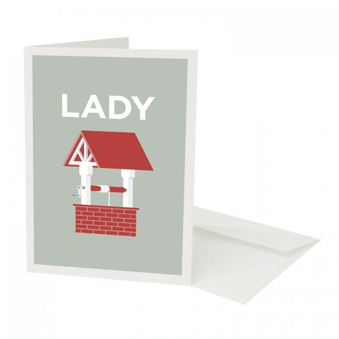 Place in Print Pate Ladywell Neighbourhood Pun Greetings Card