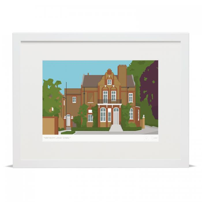 Place in Print Northcote Lodge School Art Poster Print
