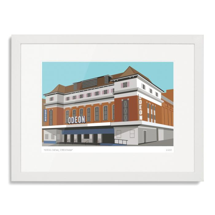 Place in Print Odeon Cinema Streatham Art Poster Print