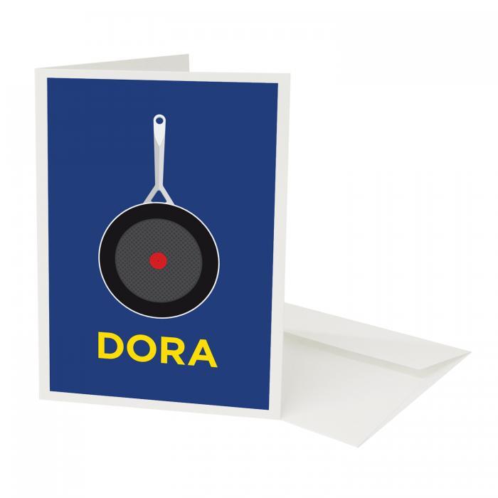 Place in Print Pate Pandora Neighbourhood Pun Play on Worlds Greetings Card