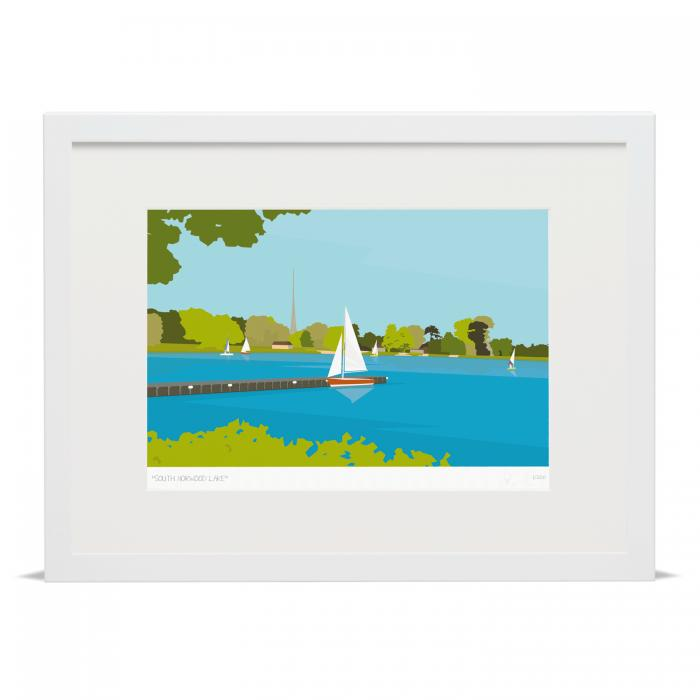 Place in Print South Norwood Lake Art Print
