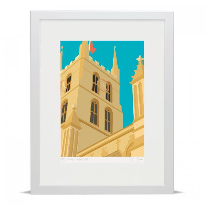 Place in Print Southwark Cathedral London Bridge Banner Art Poster Print