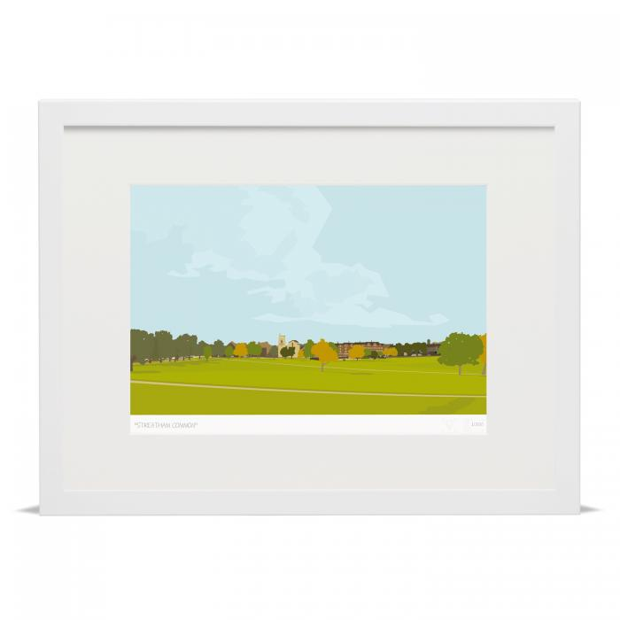Place in Print Streatham Common Art Print