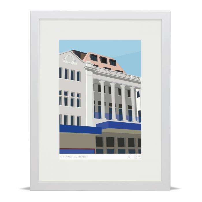 Place in Print Streatham Hill Theatre Beacon Bingo Art Print