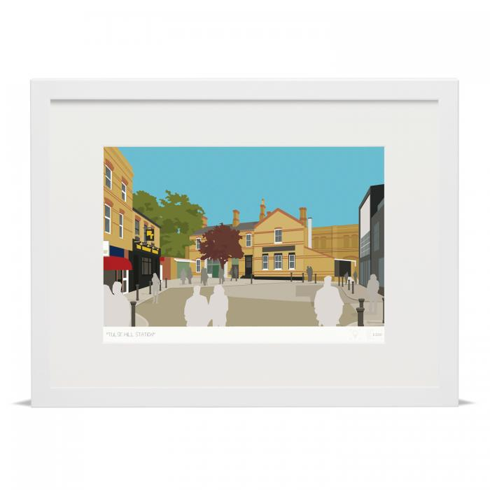Place in Print Tulse Hill Station Art Print