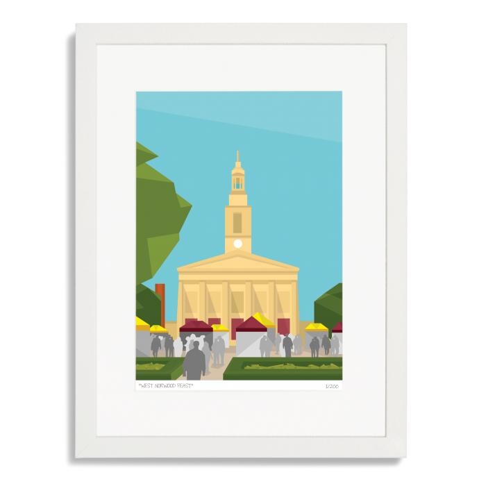 Place in Print West Norwood Feast Art Poster Print