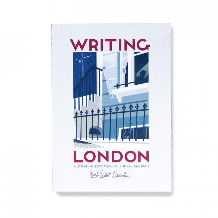 Herb Lester Writing London Book Map Guide