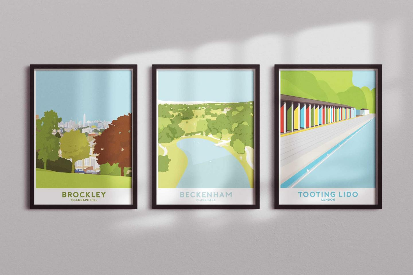 Place in Print 3 for 2 Travel Posters Promotion