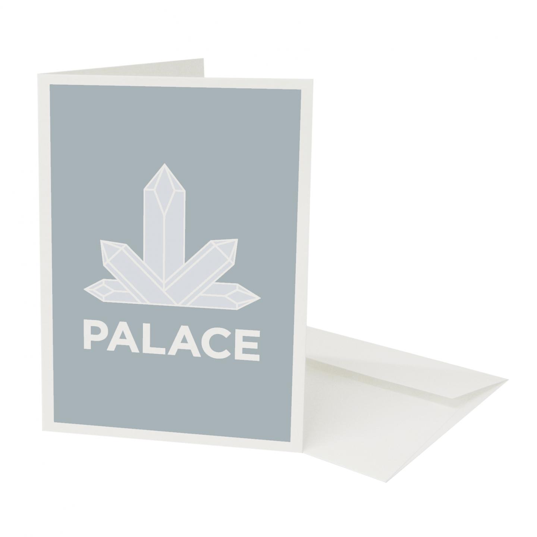Place in Print Pate Crystal Palace Neighbourhood Pun Greetings Card