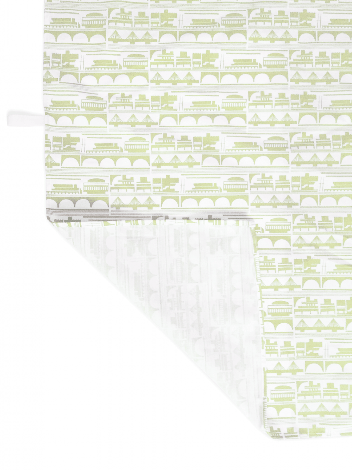 Place in Print South Bank Tea Towel Yellow