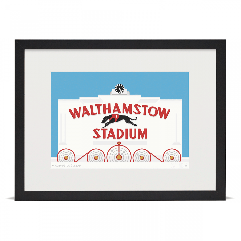 Place in Print Walthamstow Stadium Art Poster Print