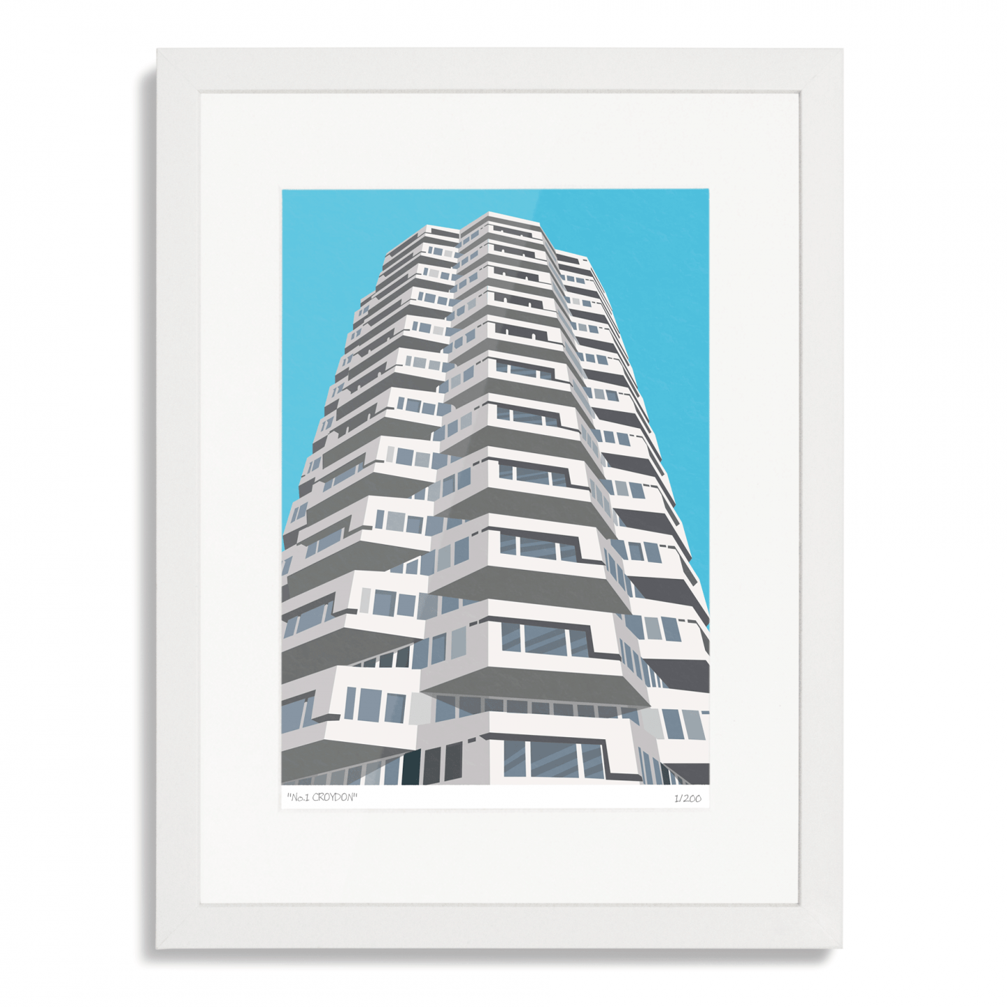 Place in Print No1 Croydon Art Poster Print