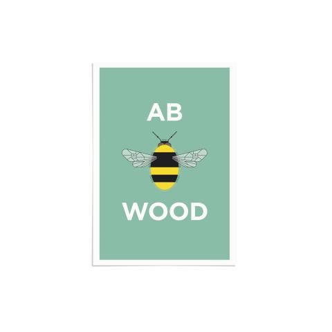 Place in Print Pate Abbey Wood Neighbourhood Pun Art Print Unframed