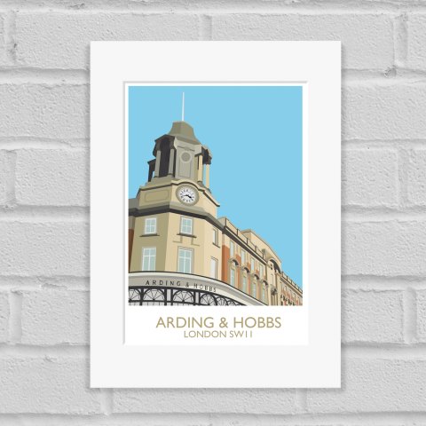 Arding and Hobbs Art Print Mounted