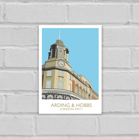 Arding and Hobbs Art Print Unframed