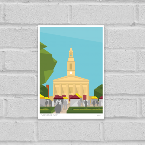 Place in Print West Norwood Feast Art Poster Print Unframed
