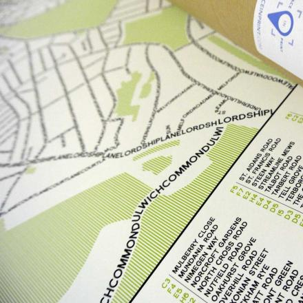Place in Print Typographic Map Collection