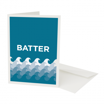 Place in Print Pate Battersea Neighbourhood Pun Greetings Card